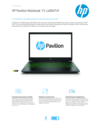 HP Gaming Pavilion - 15-cx0047nf