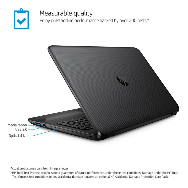 HP Laptop 15-ay085nr Intel Core i3 5th Gen 5005U (2 0 GHz) 6 GB Memory 500  GB HDD Intel HD Graphics 5500 15 6