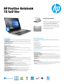 HP Pavilion 15-bc010nr (Touch) (ENERGY STAR)