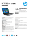 HP Pavilion 15-ab053nr Notebook
