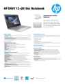 HP ENVY Notebook - 13-d010nr (ENERGY STAR)