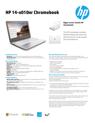 HP 14-x010nr Chromebook