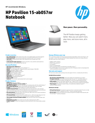 HP Pavilion 15-ab057nr Notebook