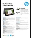 AMS HP Chromebook x360 11-ae010nr Datasheet