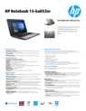 HP Notebook - 15-ba053nr
