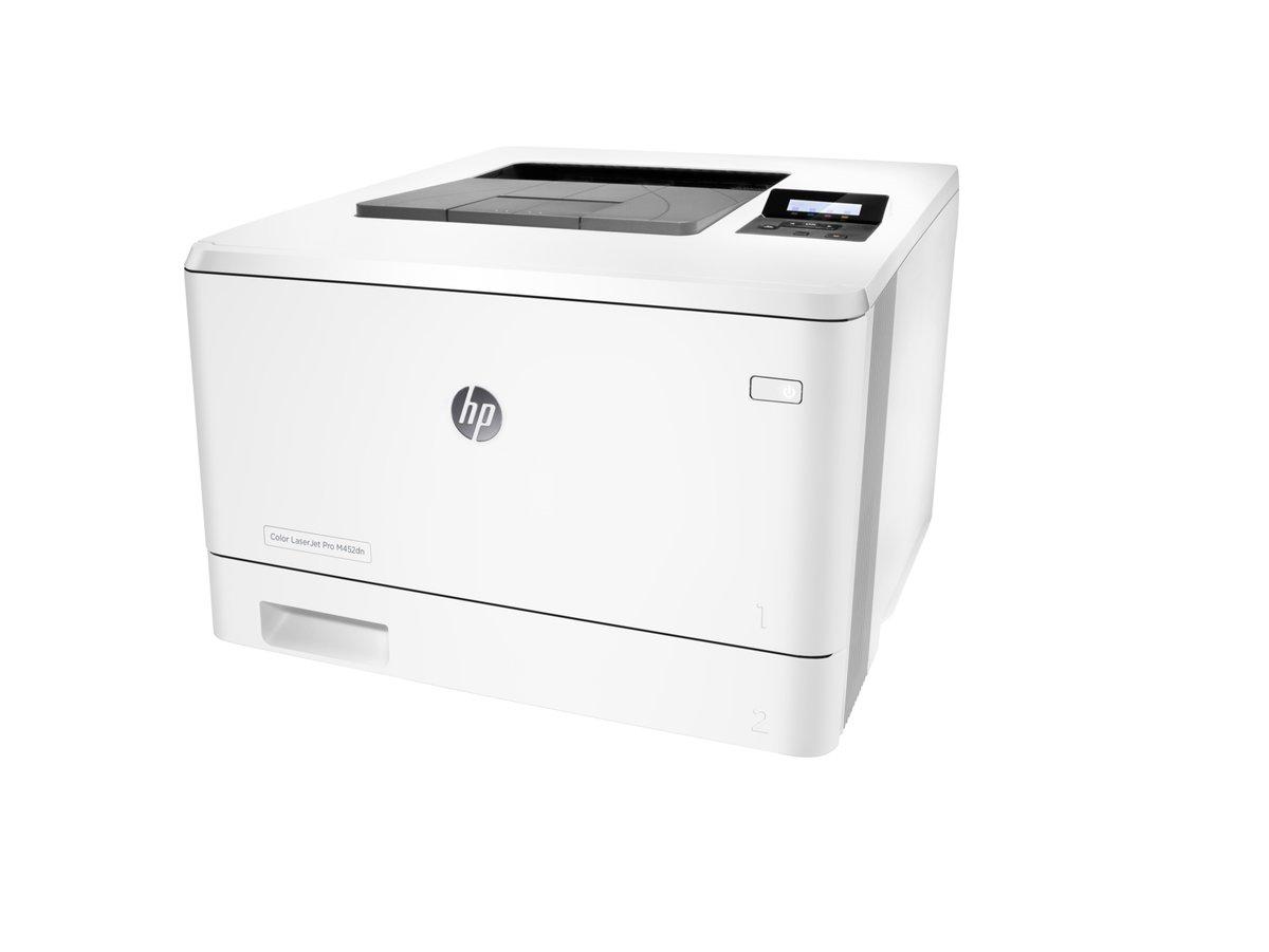 HP Color LaserJet Pro M452dn Laser Printer   Staples