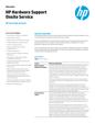 HP Hardware Support Onsite Service - datasheet - UK English