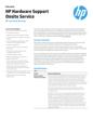 HP Hardware Support Onsite Service - Datasheet - (Australia Edition)