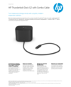 HP Thunderbolt Dock G2 with Combo Cable