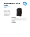 "HP Prelude Backpack 39.6 cm (15.6"")"