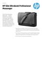 HP Slim Ultrabook Professional Messenger