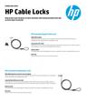 HP Cable Locks (English)