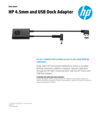 WW OPS - HP 4.5mm and USB Dock Adapter - 3/19 - EN (English)