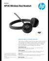 WW ACS - HP UC Wireless Duo Headset - 12/18 - EN (English)
