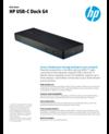HP USB-C Dock G4 (English)