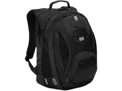 HP Sport Black Backpack