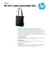 "WW OPS - HP 15.6"" Ladies Convertible Tote - 3/18 - EN (English)"