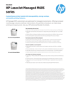 HP LaserJet Managed M605 Series