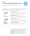 HP LaserJet Managed 506 Series