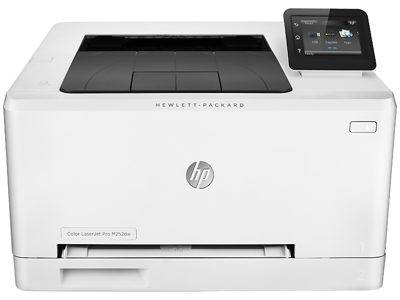 how to connect hp m252dw to wireless network