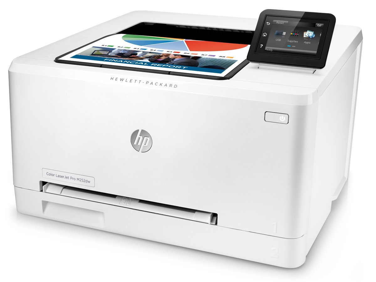 HP Laserjet Pro M252dw (B4A22A#BGJ) Duplex 600 x 600 DPI  USB//Wireless/Ethernet Color Laser Printer - Newegg.com