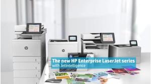 HP LaserJet Enterprise Flow MFP M577cmultifunction printer - colour