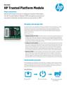 HP Trusted Platform Module