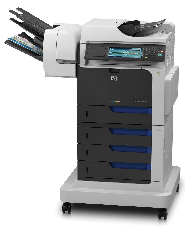 HP Color LaserJet Enterprise CM4540fskm MFP Colour Laser - Fax/copier/ printer/scanner - Laptops Direct