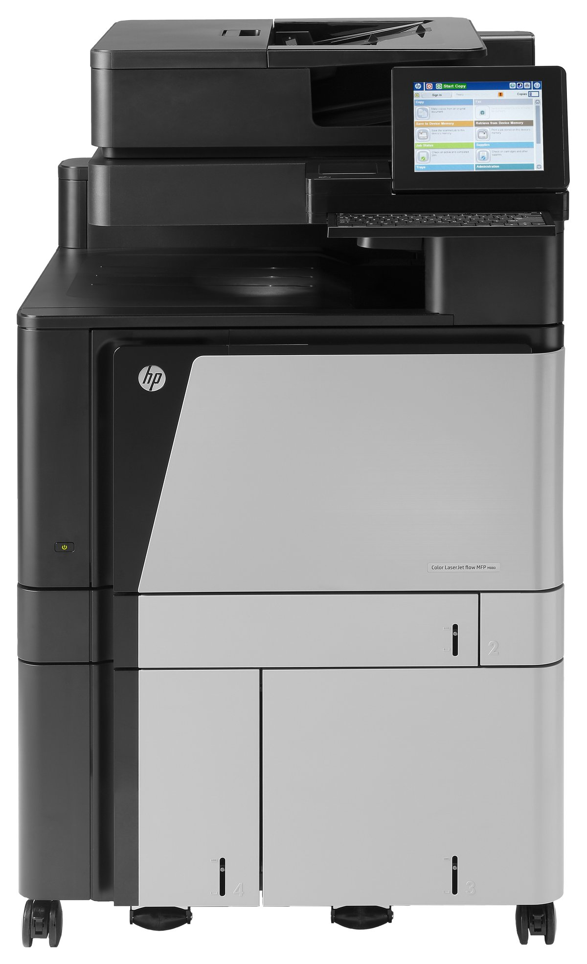 A2W76A B19 HP LaserJet Enterprise Flow MFP M880z multifunction printer colour Currys PC World Business