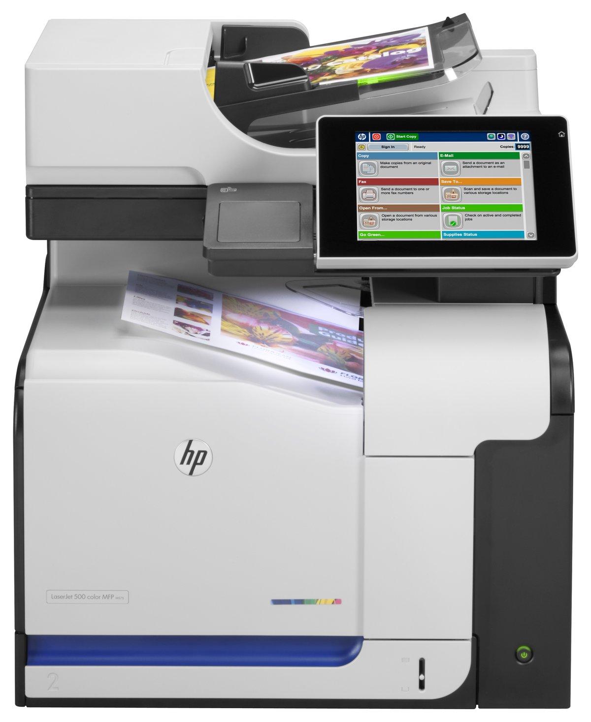 HP LaserJet 500 M575DN Laser Multifunction Printer Color Plain Paper Print Desktop by fice Depot & ficeMax