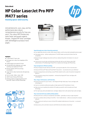 HP Color LaserJet Pro MFP M477 series (Valid for WE MEMA Israel)
