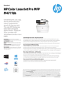 HP Color LaserJet MFP M477fdn Printer