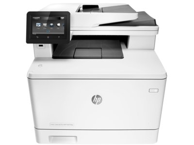 HP Color LaserJet Pro M477fdw All-In-One Wireless Laser Printer with Duplex  Printing (CF379A)
