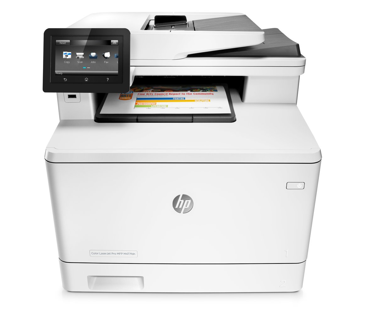hp laserjet pro color laser all in one printer copier scanner fax