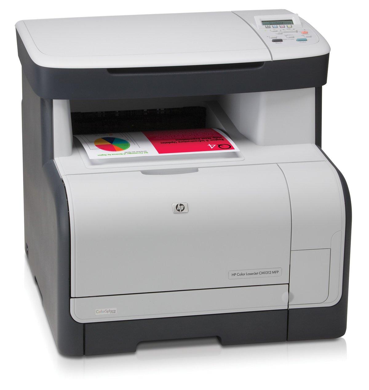 CC430A#ABU - HP Color LaserJet CM1312 MFP - multifunction printer ( colour  ) - Currys PC World Business