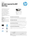 HP Color LaserJet MFP M477fnw Printer