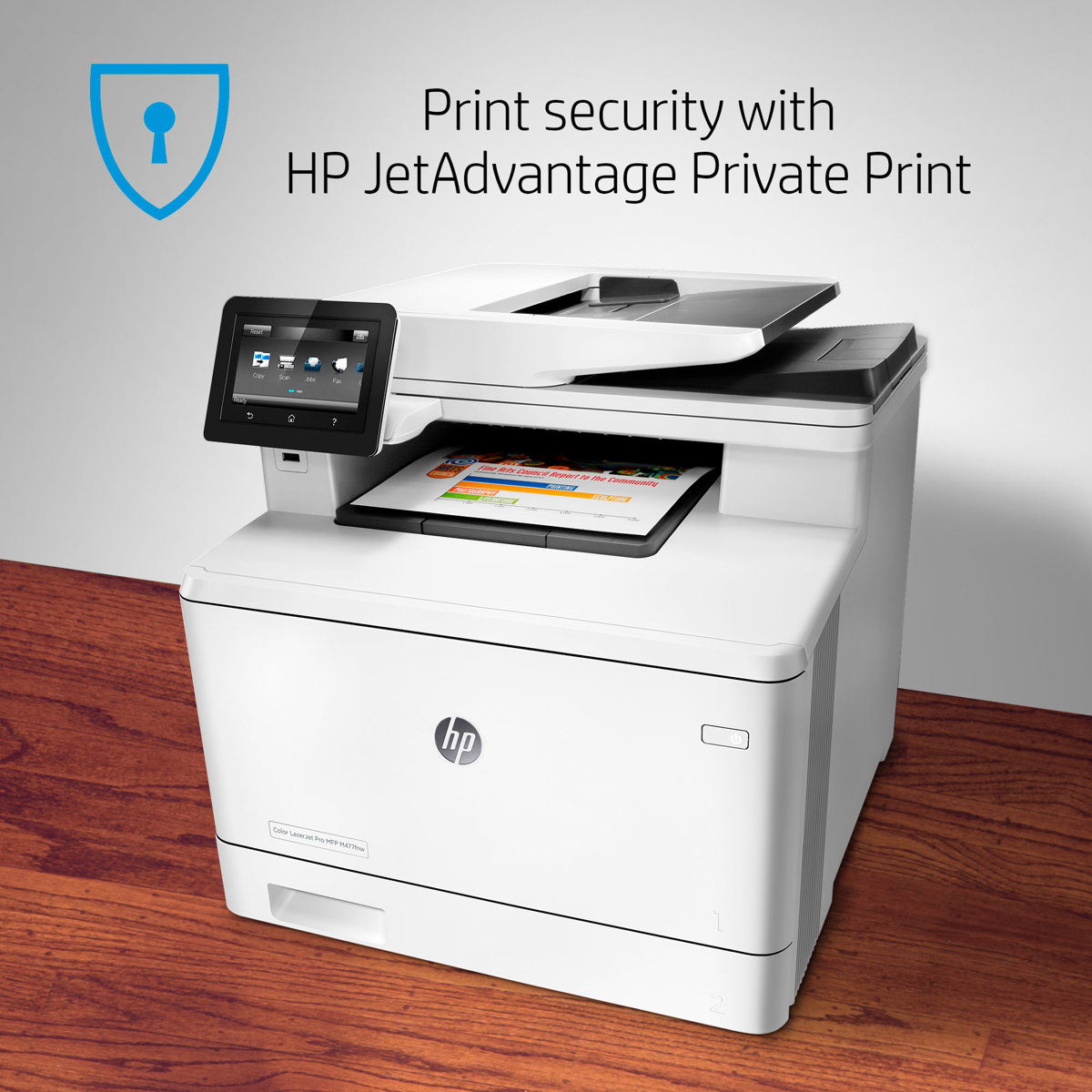 HP Color LaserJet Pro M477fnw Multifunction Wireless Laser Printer With  Built In Ethernet CF377A by Office Depot & OfficeMax