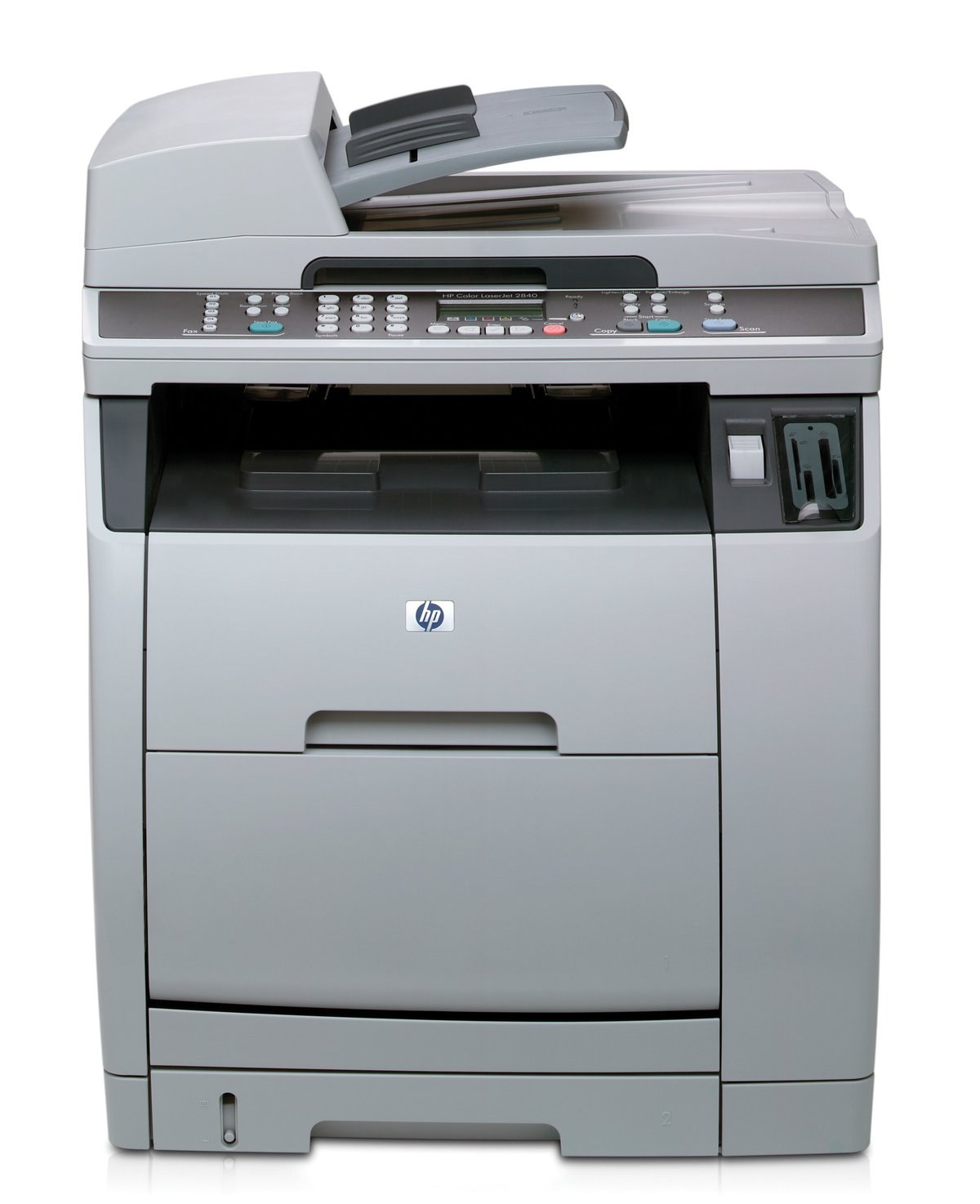 slide 1 of 3,show larger image, hp color laserjet 2840 all-in