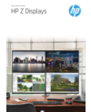 HP Z Displays Comparison Guide