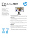 HP Z24s 23.8-inch IPS UHD 