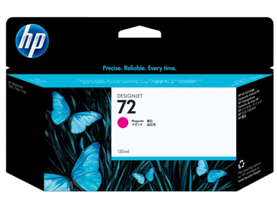 HP 72 130-ml Magenta DesignJet Ink Cartridge
