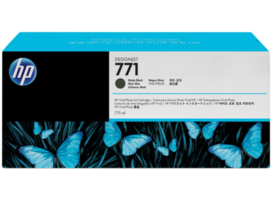 HP 771 775-ml Matte Black Designjet Ink Cartridge