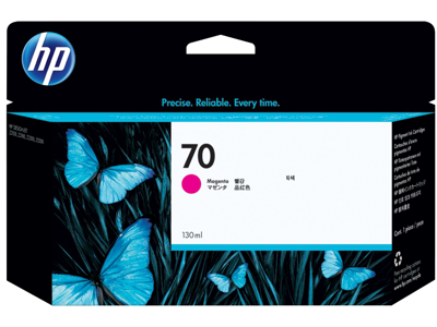 HP 70 130-ml Magenta DesignJet Ink Cartridge
