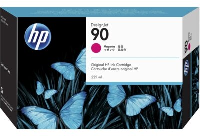 HP 90 225-ml Magenta DesignJet Ink Cartridge