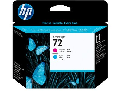 HP 72 Magenta and Cyan DesignJet Printhead
