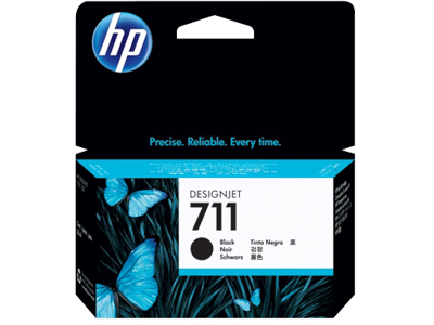 hp 711 black ink cartridge cz129a office depot. Black Bedroom Furniture Sets. Home Design Ideas