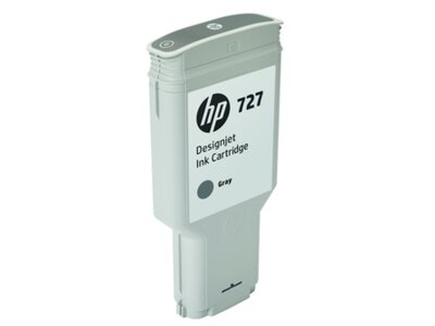HP 727 300-ml Gray DesignJet Ink Cartridge