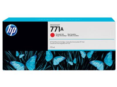 HP 771A 775-ml Chromatic Red DesignJet Ink Cartridge