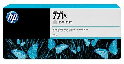 HP 771A 775-ml Light Gray DesignJet Ink Cartridge