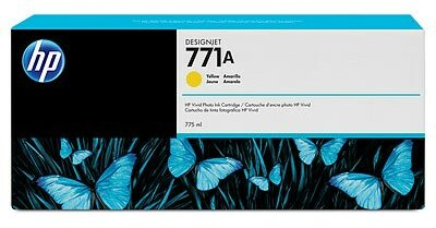 HP 771A 775-ml Yellow DesignJet Ink Cartridge